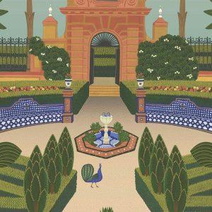 Alcazar Garden 117-7020
