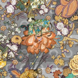 Moooi Wallcovering Tokyo Blue Rendezvous Tokyo Blue MO3011-Cashmere