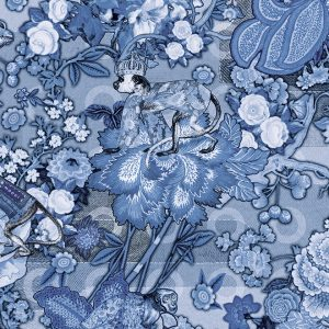 Moooi Wallcovering Tokyo Blue Rendezvous Tokyo Blue MO3012 - Ming Blue