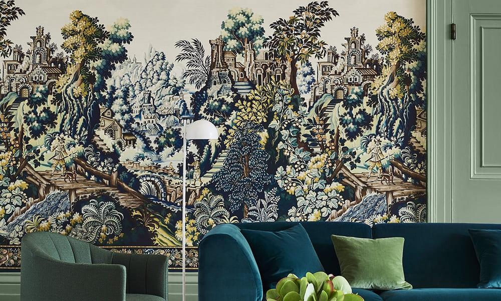 Verdure Tapestry Interior Shot